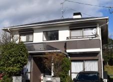 高島市K様邸(外壁材:窯業系サイディング 屋根材:スレート)